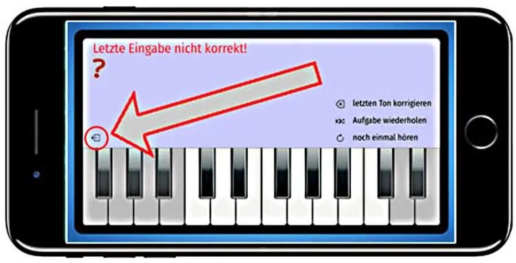 Ear-Trainer-Keyboard-AMADEUS-auf-dem-Smartphone-beenden