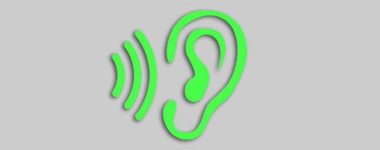 Symbol Hören im Hörtrainer amadeus von Peter M haas
