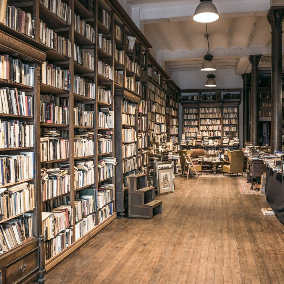 A dusty library