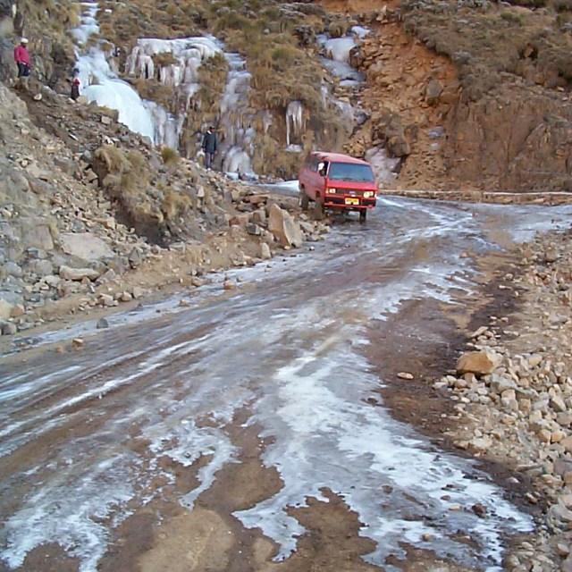 Sani Pass in winter