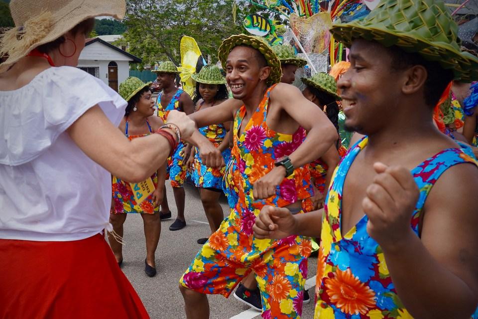 Festival Kreol dancers