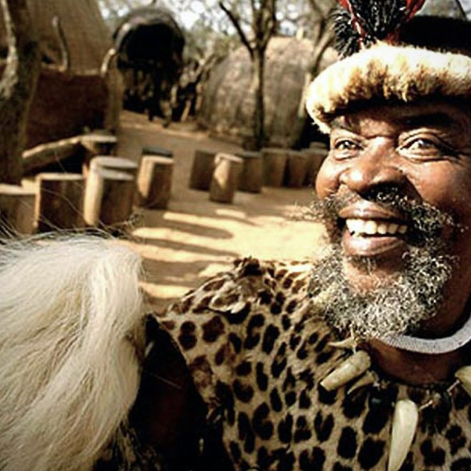 Zulu chief in Zululand