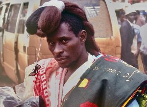 Jerome - the wig seller of Kampala