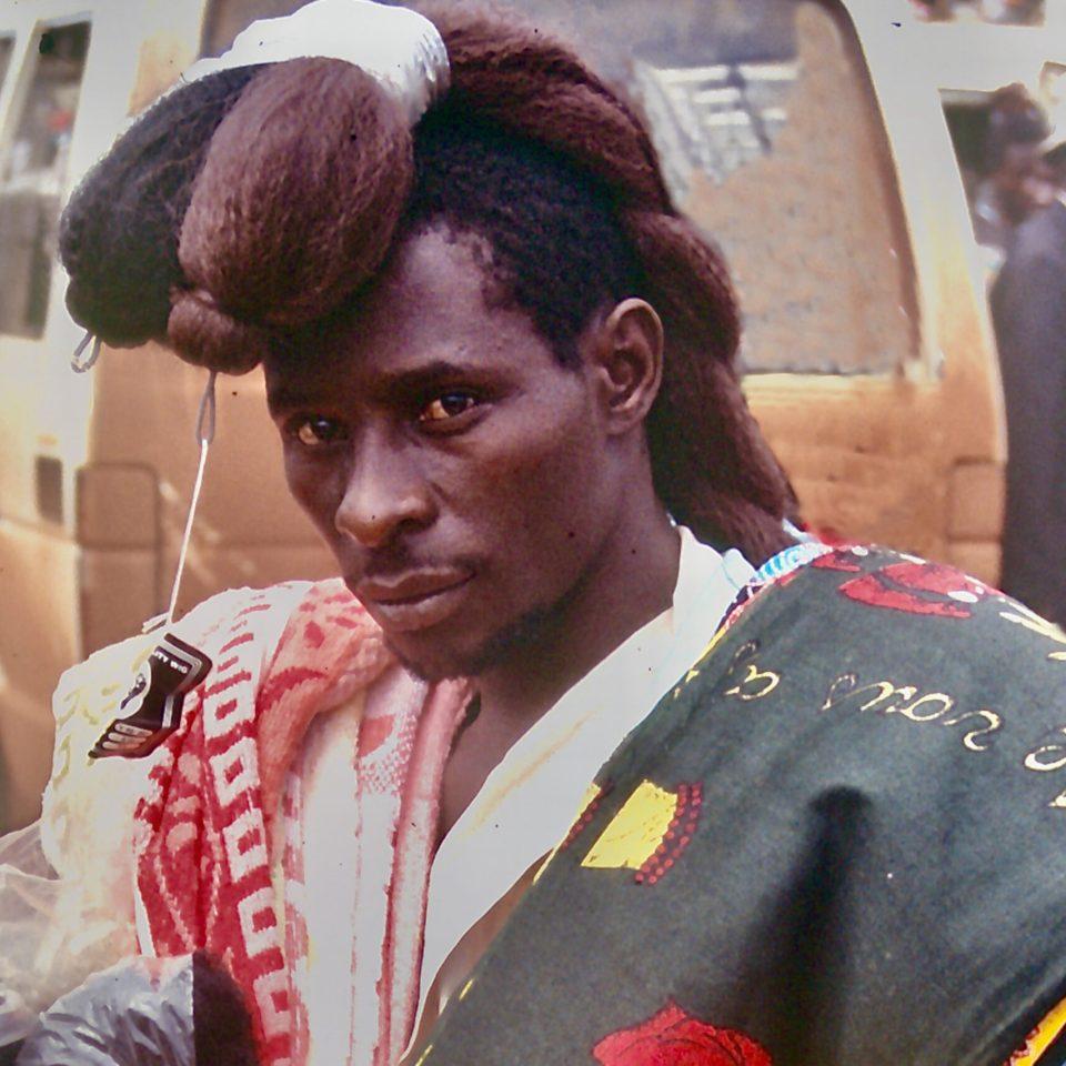 Jerome - the wig seller of Kampala