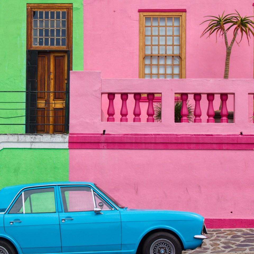 Colourful street in Cape Town (Leon Skrilec/Unsplash)