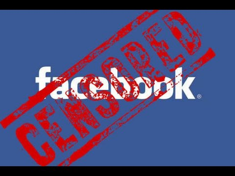 Facebook censorship