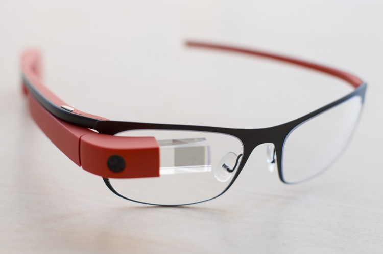 Google Glass Red