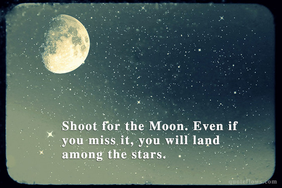 Nanowrimo Results Why You Should Always Shoot For The Moon