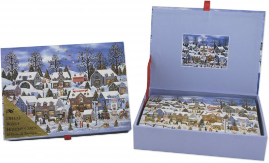 Peter Pauper Press Holiday Cards Review And Giveaway