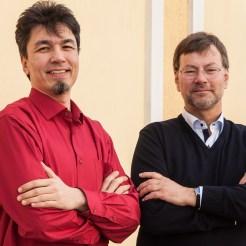 Dr. Timur Yadgarov und Peter Kensok