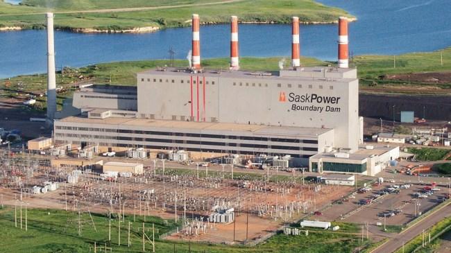Boundary-Dam CCS powerplant SaskPower photo
