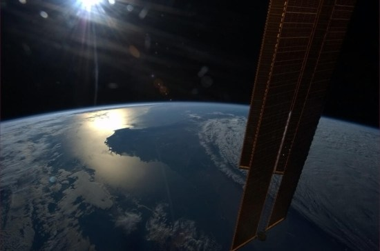 Hadfield sun setting over southwestern Australia