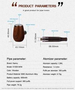 Kamry K1000 Mini Help Sheet