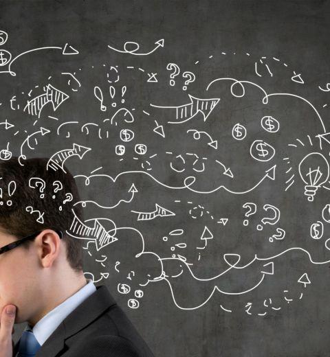 rationeel denken en intuïtief denken