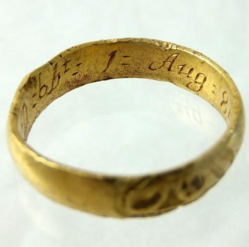 Memento Mori Gold Ring