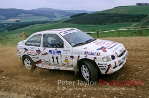 Stephanie / Rachael Simmonite,  Ford Escort RS2000