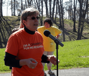 Stephanie Mincer, President and CEO of the National MS Society's Upstate New York Chapter