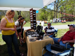 Vendors donated part of their sale proceeds to Walk MS.