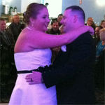 Wedding Photos: Leanna and Justin at American Legion, Cicero, 6/14/14