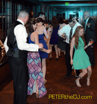 Dancing the night away at Erin and Steven's reception! #thebishops2015