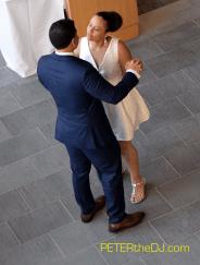 Malika and Sergio's first dance
