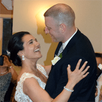 Wedding Photos: Sara and Bill at Traditions at the Links, East Syracuse, 5/30/15