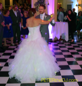 Laura and Daniel's first dance - Lincklaen House, Cazenovia, NY, 9/26/15