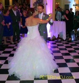 Laura and Daniel's first dance - Lincklaen House, Cazenovia, NY, 9/26/15