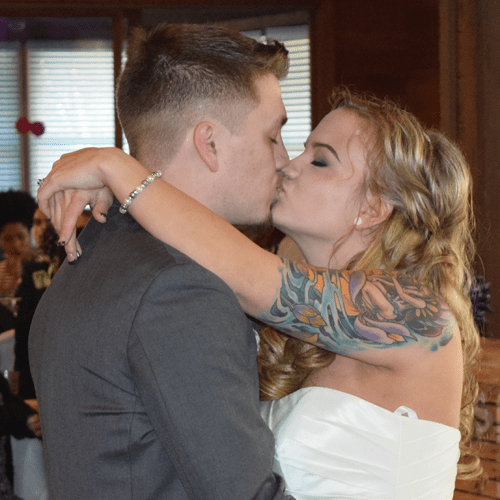 Wedding: Allyssia and Ryan at Arrowhead Lodge, Brewerton, 4/9/16