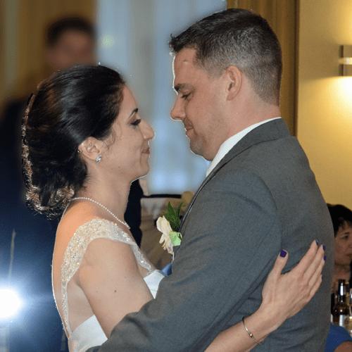 Wedding: Emily and Greg at Hilton Garden Inn, East Syracuse, 4/30/16