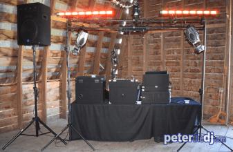 The setup at MKJ Farm