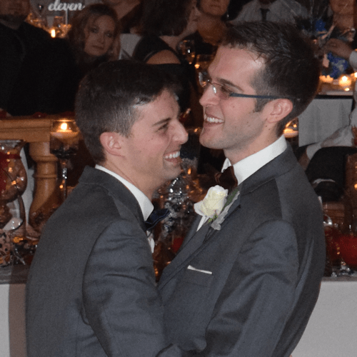 Wedding: Arthur and Evan at Marriott Syracuse Downtown, 1/14/17