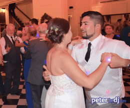 DJ Peter Naughton shares photos from Ashley and Edward's wedding at Lincklaen House in Cazenovia, NY - July 2017