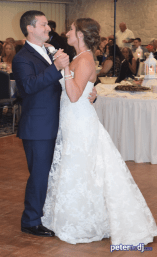 First dance: Stephanie & Larry's wedding reception at Hart's Hill Inn, Whitesboro, NY - August 2017