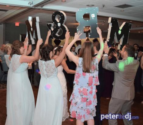 Dabke dance: Stephanie & Larry's wedding reception at Hart's Hill Inn, Whitesboro, NY - August 2017