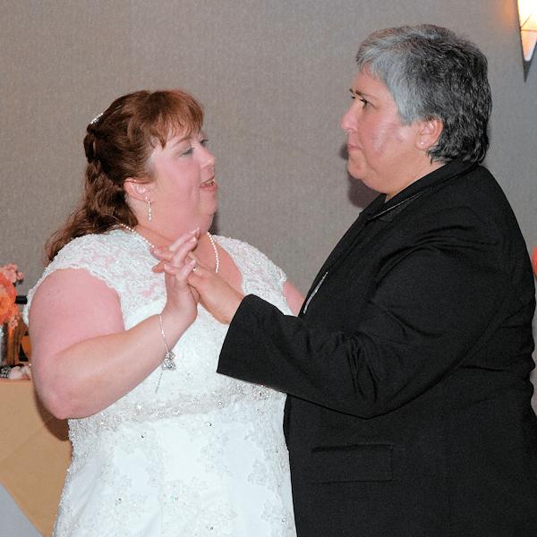 Wedding: Paula and Sarah at Embassy Suites East Syracuse, 2/17/18