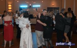 Andrea and Larry's wedding reception at Turning Stone, Verona, NY