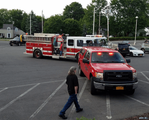 Fire Alarm: Kathy and Duncan's 25th wedding anniversary at Drumlins, Syracuse