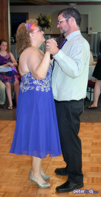 Last Dance of the Night: Kathy and Duncan's 25th wedding anniversary at Drumlins, Syracuse