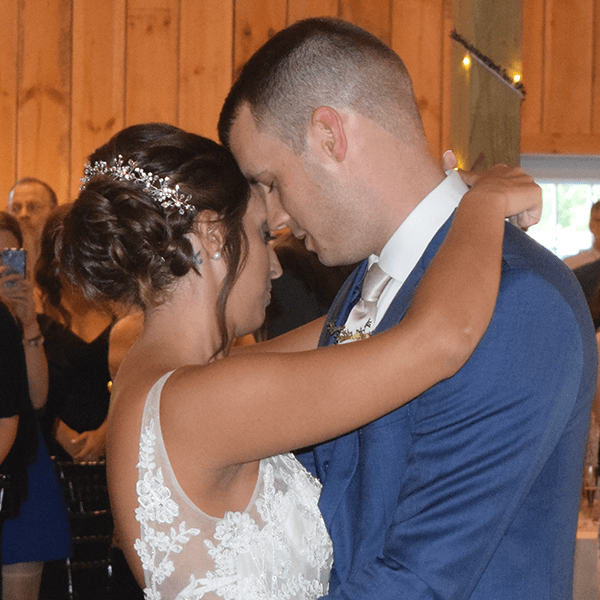 Wedding: Theresa and Eric at Wolf Oak Acres, Oneida, 9/15/18