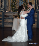 Irene and Robert's wedding at Tailwater Lodge, Altmar, NY - DJ Peter Naughton - December 2018
