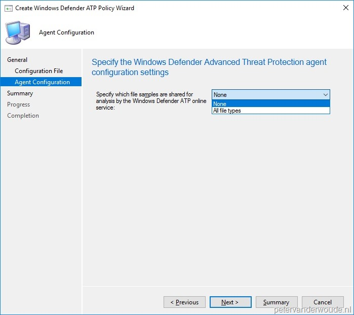 Onboard Windows 10 devices for Windows Defender Advanced