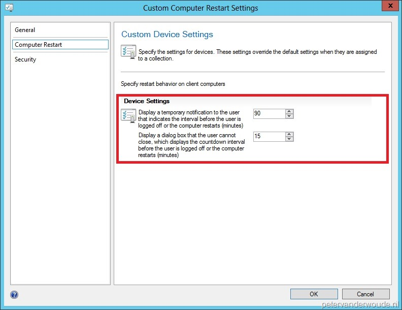 Working with the restart behavior of Applications in ConfigMgr 2012