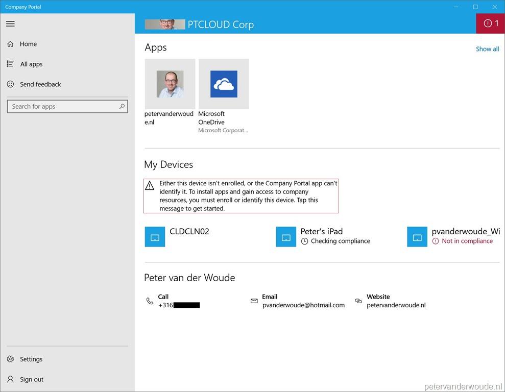 Company Portal – More than just ConfigMgr