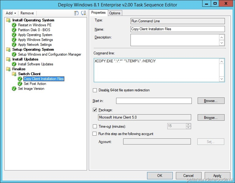 Task Sequence – More than just ConfigMgr