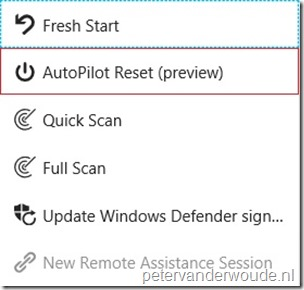 Remote Windows AutoPilot Reset – More than just ConfigMgr