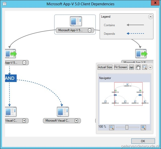 Showing Dependent Applications in ConfigMgr 2012 via