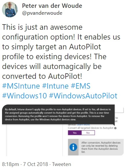 Windows AutoPilot – More than just ConfigMgr