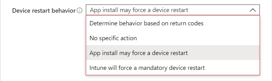 Figure 2: Device restart behavior