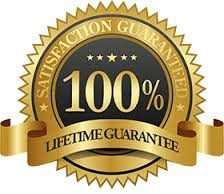 100% Lifetime Guarantee. Min